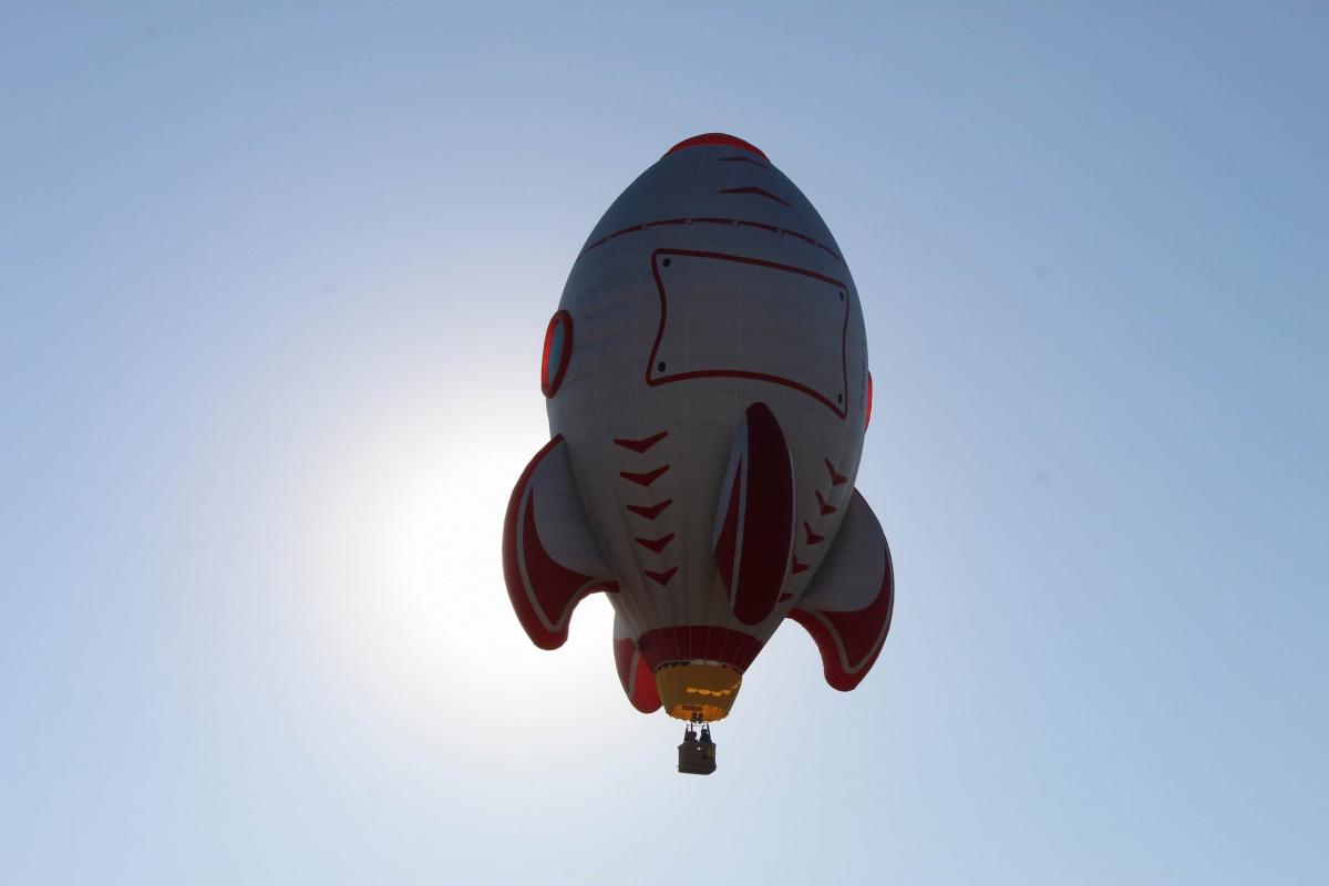 Türkiye'nin ilk özel şekilli balonları üretildi
