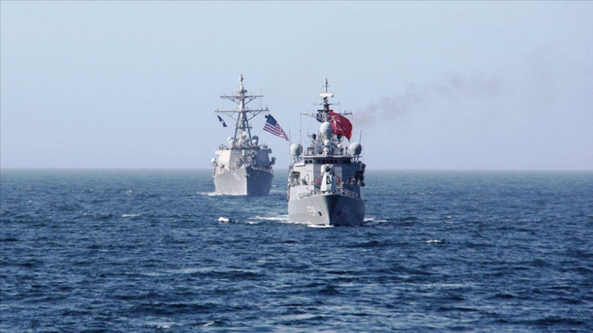 Türkiye ve ABD, Karadeniz'de geçiş eğitimi gerçekleştirdi