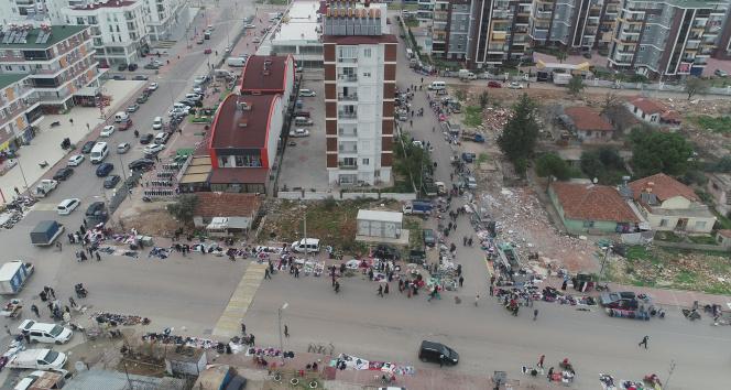 Turuncu kategorideki Antalya'da ürküten manzara