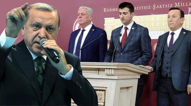 Üç vekilin CHP'den istifasına Cumhurbaşkanı Erdoğan'dan ilk yorum: AK Parti'yi suçlamak yüzsüzlük, pişkinliktir
