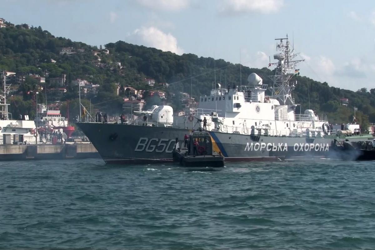 Ukrayna'nın Grigoriy Kuropyatnikov gemisinden Türkiye'ye ilk dostluk ziyareti