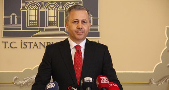 Vali Yerlikaya'dan Sancaktepe Belediye Başkanı'na geçmiş olsun mesajı
