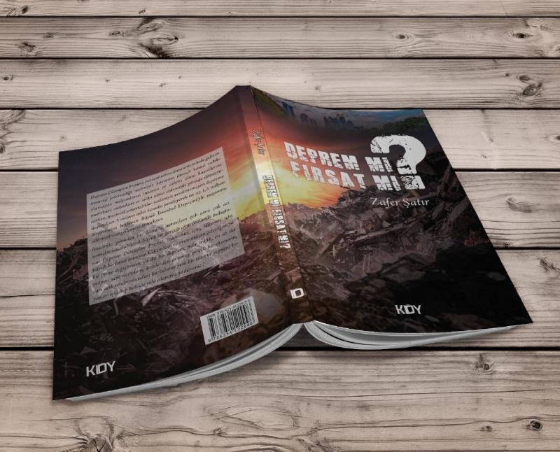 Yazar Zafer Şatır'dan Istanbul Depremi icin tavsiyeler kitabi