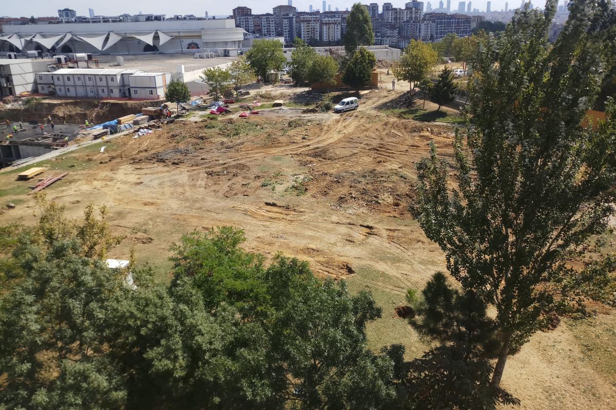 Yeşilpınar Gençlik Parkı'nın yıkımına vatandaşlardan tepki