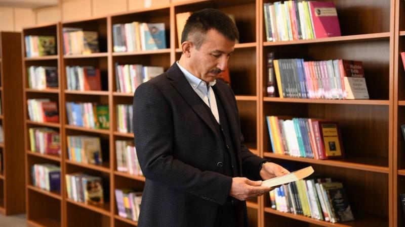 Yıldıztepe kütüphanesi açıldı