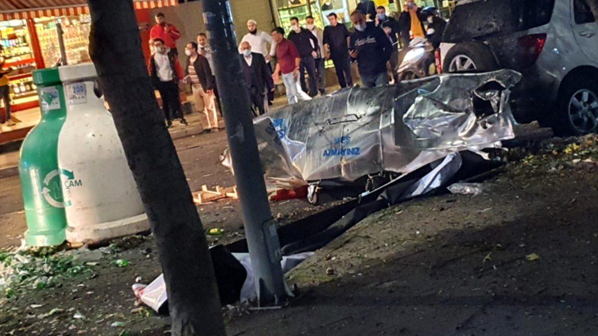 İstanbul Ataşehir\'de korkutan patlama! Çöp kutusuna bomba atıldı iddiası