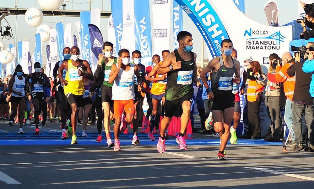 42. İstanbul Maratonu'na Kenyalı Atletler Damga Vurdu