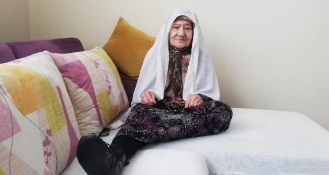 90 yaşındaki Hatice ninenin Erdoğan sevgisi