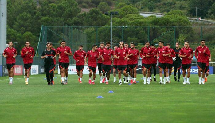 A Milli Futbol Takımı, Hırvatistan maçı hazırlıklarını tamamladı