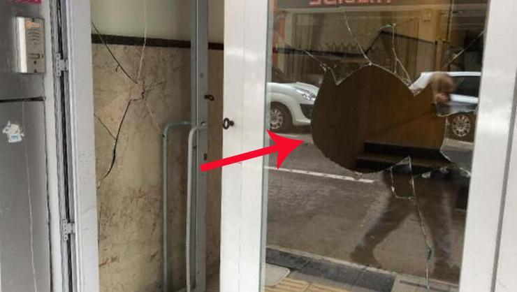AK Parti İl Başkanlığı binasına saldırı