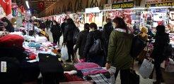Alışveriş için Edirne'ye gelen Bulgarlar bir günde yaklaşık 700 bin euroluk harcama yapıyor