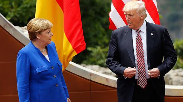 Almanya Başbakanı Merkel, ABD'de çıkan olayları değerlendirdi: Görüntüler beni kızdırdı ve üzdü