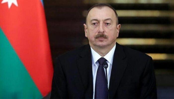 Azerbaycan Cumhurbaşkanı Aliyev Dağlık Karabağ'da