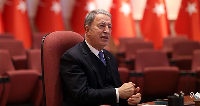 Bakan Akar'dan NATO'ya PKK eleştirisi