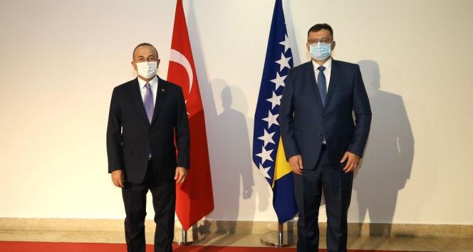 Bakan Çavuşoğlu, Bosna Hersek Bakanlar Konseyi Başkanı (Başbakan) Tegeltija ile görüştü