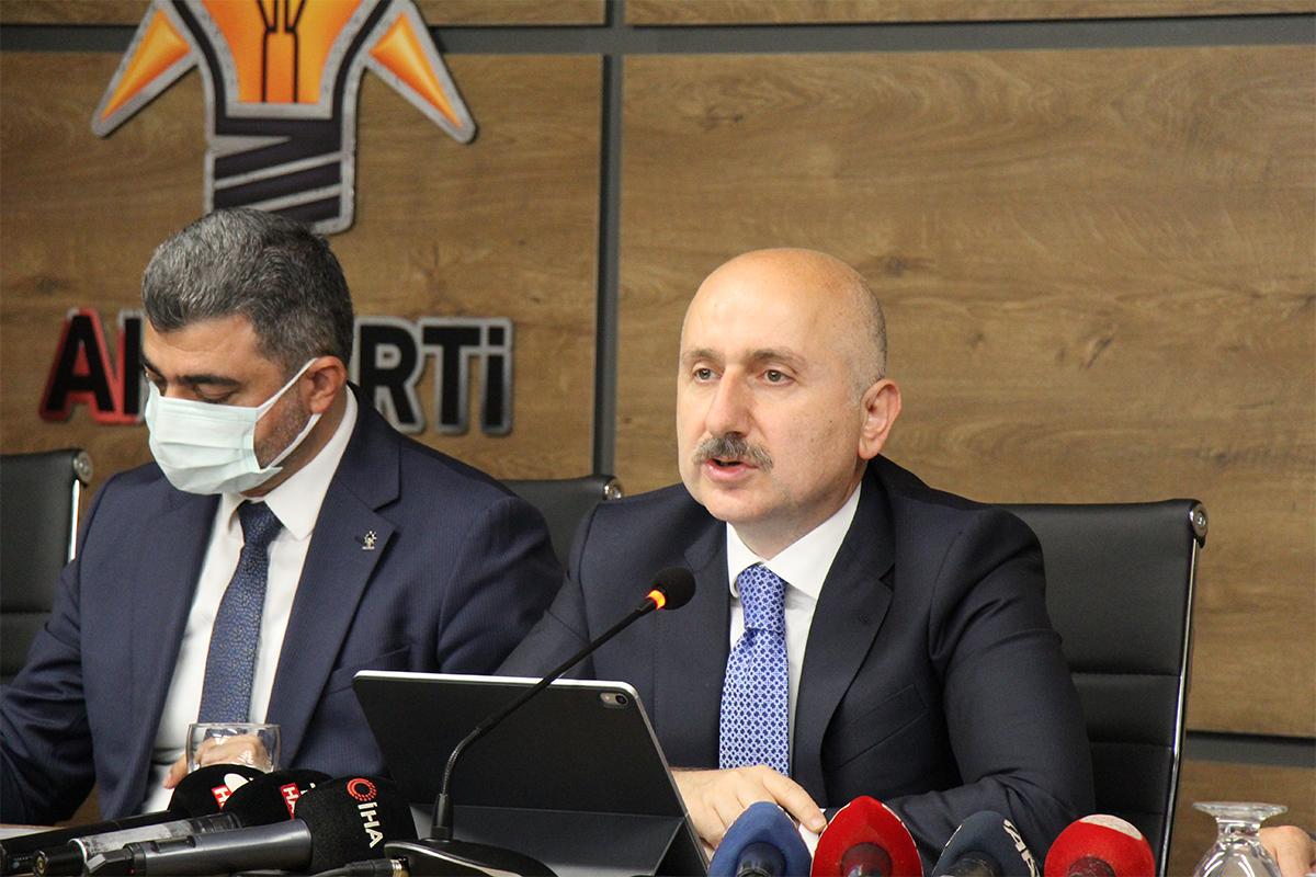 Bakan Karaismailoğlu: 'Kanal İstanbul ile orta koridor hedefimiz daha da güçlenecek'