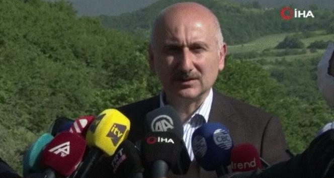 Bakan Karaismailoğlu :'Nahçıvan bağlantısı Azerbaycan-Türkiye bağlantılarını daha kuvvetlendirecek'
