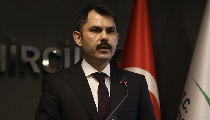 Bakan Kurum'dan İzmir'deki hasar tespit çalışmalarına ilişkin paylaşım