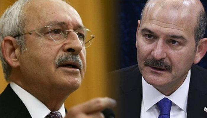Bakan Soylu'dan Kılıçdaroğlu'nun 'telefonlarım dinleniyor' iddiasına yanıt