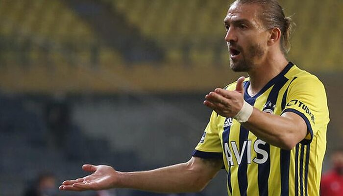 Beşiktaş derbisinde Caner Erkin'in küfürleri ekranlara yansıdı
