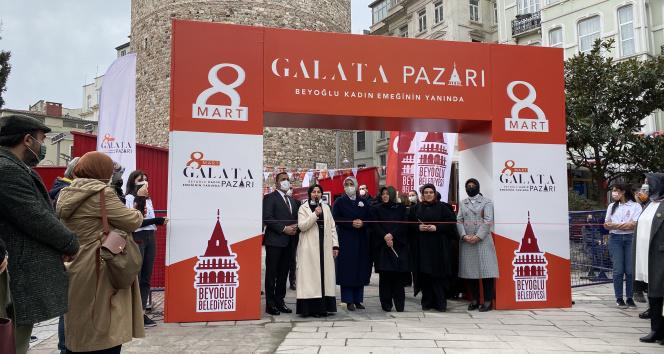 Beyoğlu'nun girişimci kadınları 8 Mart Galata Pazarı'nda buluştu