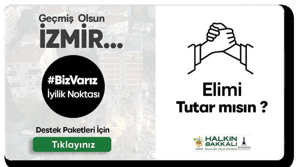 Bizizmir.com platformu ile İzmir'deki depremzedelere destek olabilirsiniz