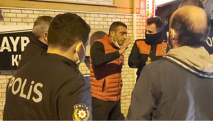 Bursa'da kısıtlamaya uymayan şahıs polisleri çileden çıkardı: Senin adın ne?