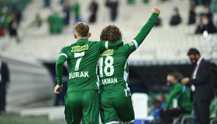 Bursaspor'un genç futbolcuları Ali Akman ve Burak Kapacak Ümit Milli Takım'a çağrıldı