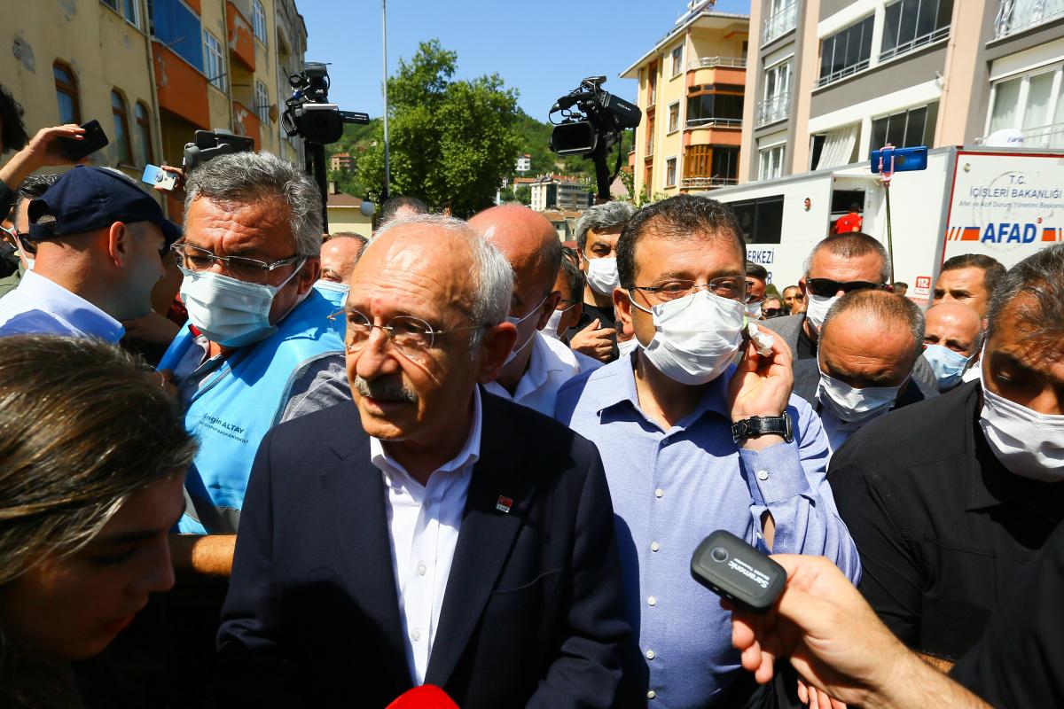 CHP Genel Başkanı Kılıçdaroğlu, Bozkurt'ta incelemelerde bulundu