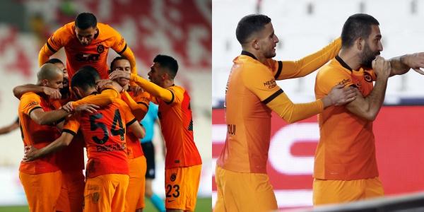 Cimbom Zirve Yürüyüşüne Sivas'ta Devam Etti! Arda Turan'ın 9 Yıl Sonra Galatasaray Formasıyla Gol Attığı Maçta Yaşananlar ve Tepkiler
