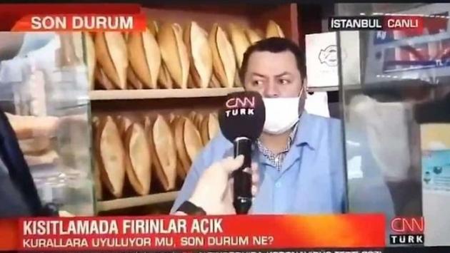CNN Türk muhabiri 'fırıncı röportajı' için özür diledi