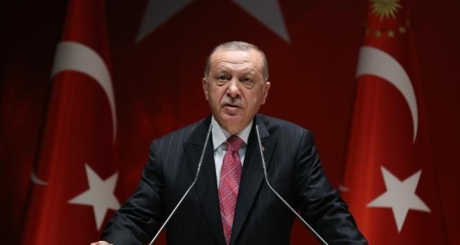 Cumhurbaşkanı Erdoğan: 'Bu akşam saat 19.19'da bütün vatandaşlarımızla İstiklal Marşımızı okuyacağız'