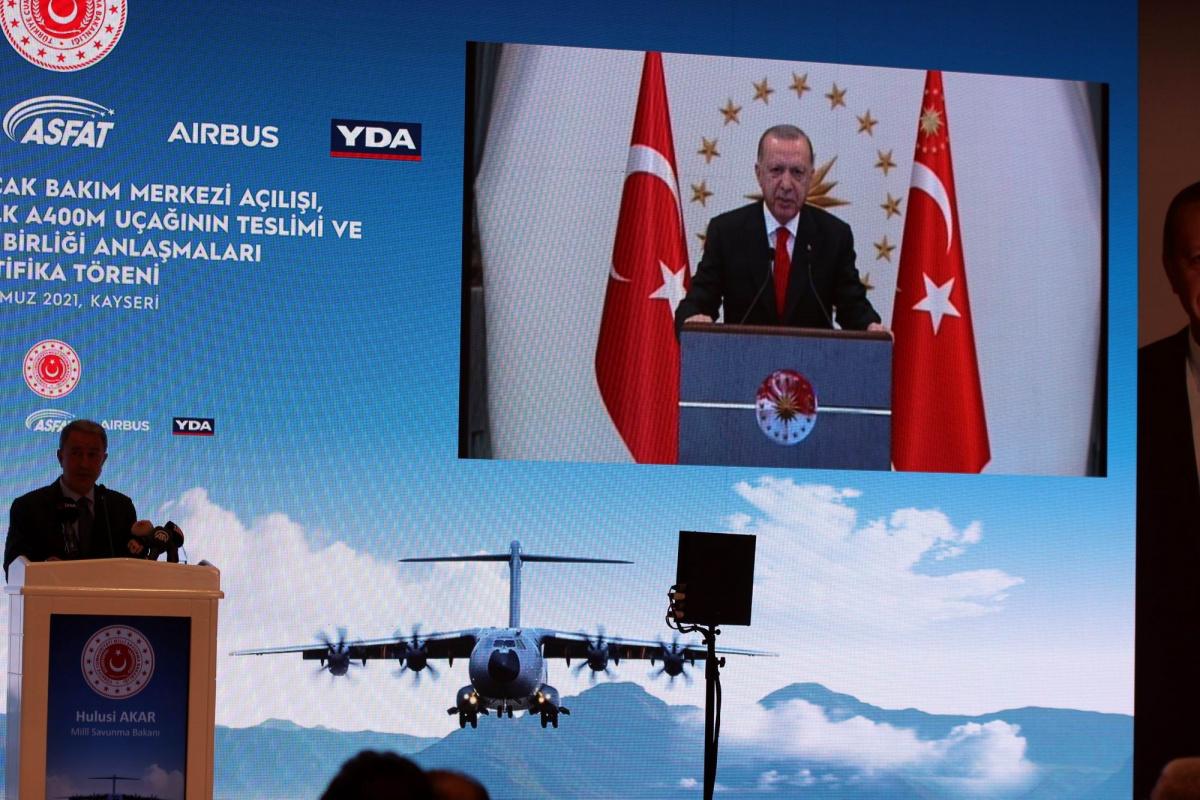 Cumhurbaşkanı Erdoğan: 'Karaladıkları projeler Türk Savunma Sanayinin geleceğine yapılan yatırımlardır'