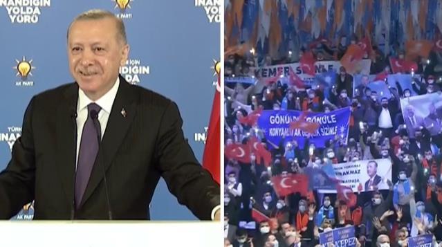 Cumhurbaşkanı Erdoğan, Müslüm Gürses'le ilgili hatasını fark edip anında düzeltti