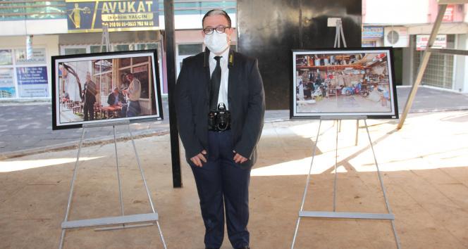 Down sendromlu Deniz Sinan'ın +1 fotoğraf sergisi açıldı