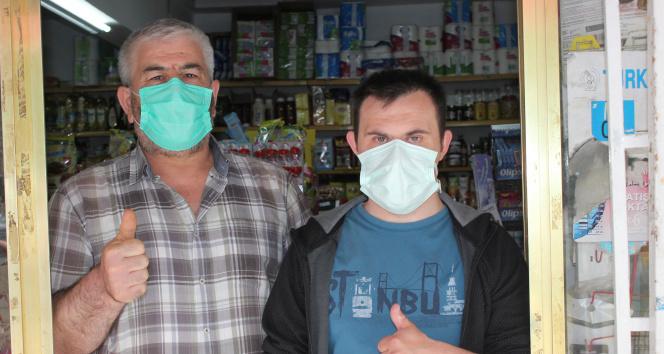 Down Sendromlu Mustafa 20 yıldır Bakkal Çıraklığı Yapıyor