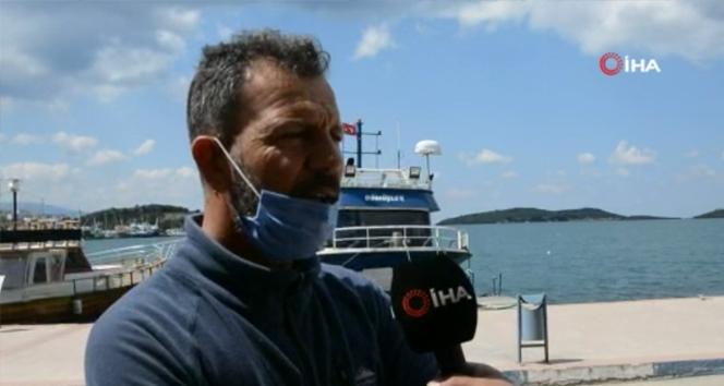 Düşen askeri uçağın enkazını teknesindeki radar cihazıyla tespit eden Yaylaz konuştu