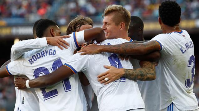 El Clasico'da Real Madrid Barcelona'yı Devirdi