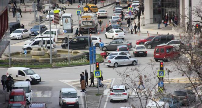 En yüksek riskli il Samsun'da korkutan yoğunluk