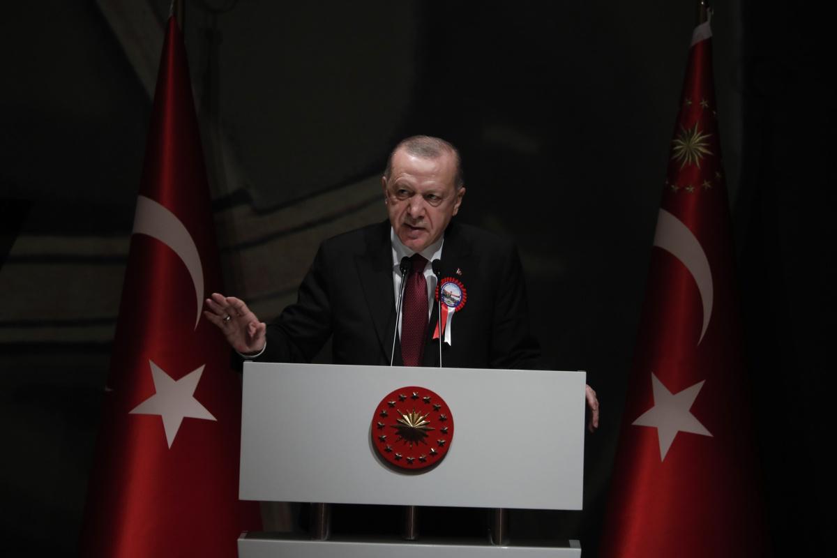 Erdoğan: 'Başka coğrafyalarda bizimle yol yürümek isteyen kardeşlerimizin yanlarında yer almanın hazırlığı içindeyiz'