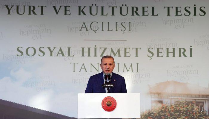 Erdoğan'dan 'yurt tartışması'na yanıt: Üniversite öğrencileriyle alakalı çirkin bir kampanya sürdürülüyor