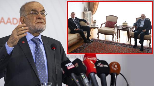 Erdoğan'ın Asiltürk'ü ziyaretinden sonra Karamollaoğlu, Cumhur İttifakı'na yeşil ışık yaktı
