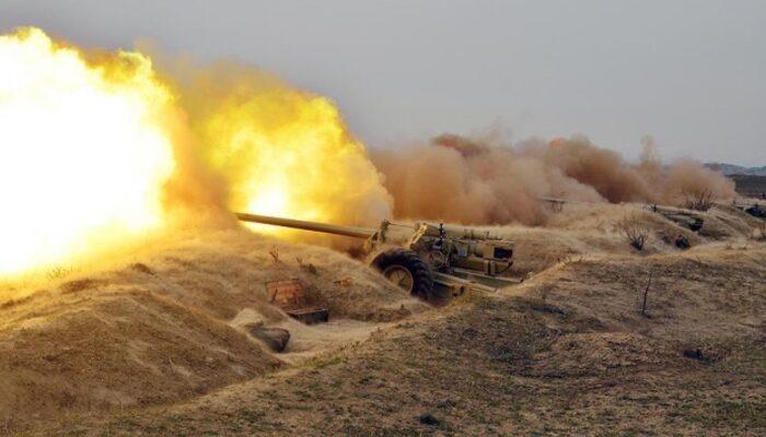 Ermenistan'dan Azerbaycan'a topçu saldırısı