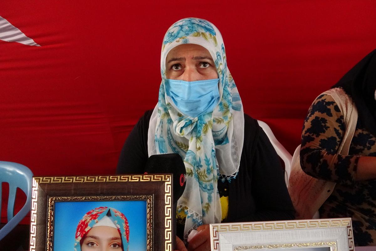 Evlat nöbetindeki anne Akkuş HDP ve PKK'ya ateş püskürdü