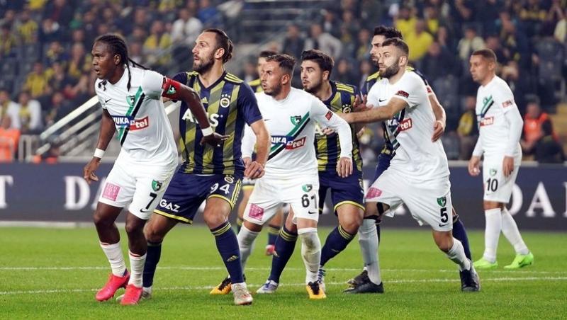 Fenerbahçe'nin Denizlispor Maçı Kadrosu