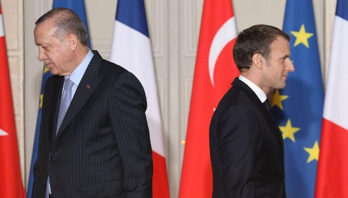 Fransa Cumhurbaşkanı Macron'dan Cumhurbaşkanı Erdoğan'a yanıt