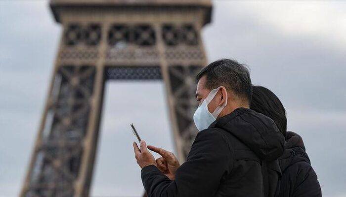 Fransa'da son 24 saatte 52 bin 518 ile en yüksek günlük Kovid-19 vaka sayısı açıklandı