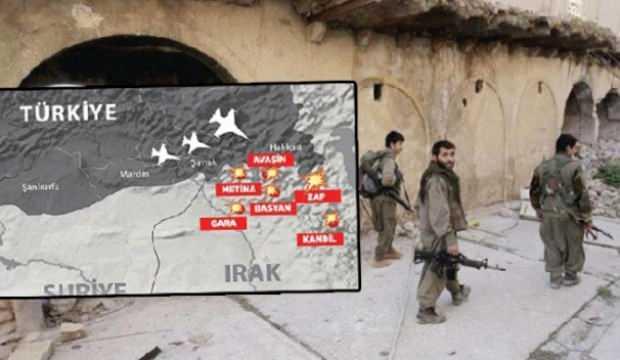 Gara'da PKK'nın hafızasını sildik