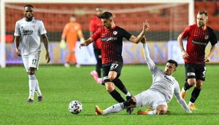 Gaziantep FK'da Mirallas ve Muhammet Demir, Beşiktaş maçı sonrasında konuştu