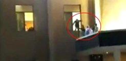 Gaziantep'te hastanedeki patlamadan yeni görüntüler! Dehşet anları kamerada